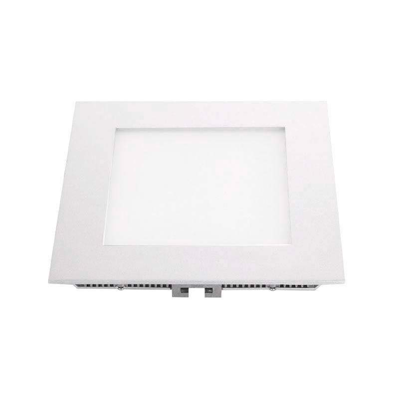 Downlight Led MARAK 12W, aluminio lacado en color blanco, Blanco cálido